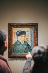 Van Gogh Auto retrato com orelha cortada