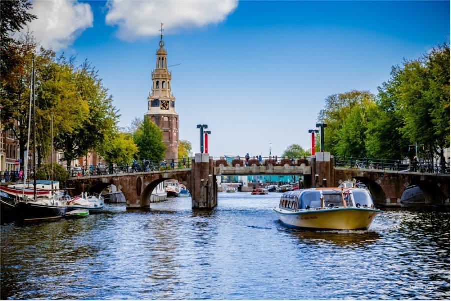 Amsterdam de barco