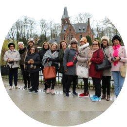 grupo de turistas