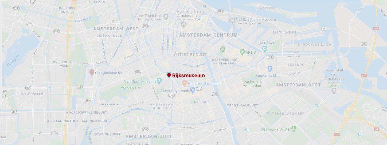 Rijksmuseum map