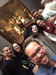 Grupo em tour no Rijksmuseum